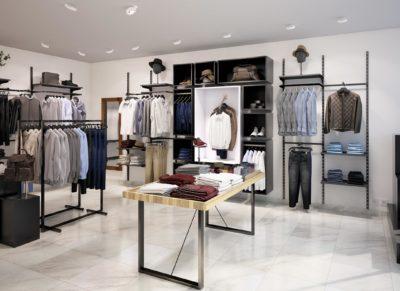 Aménagement du magasin